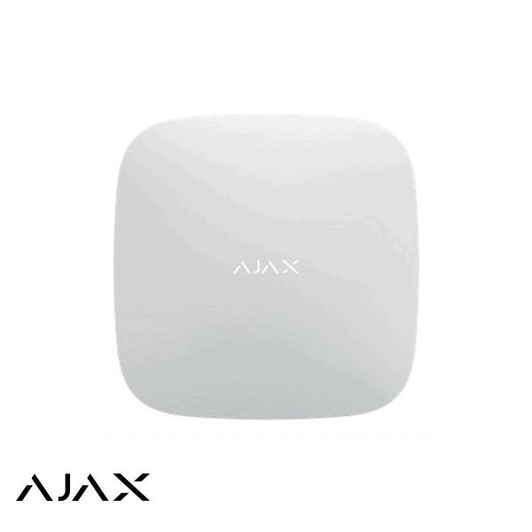 AJAX Centrale HUB Plus WIT 2X GSM LAN en WiFi